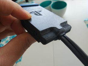 PS4 VR HDMI Cable Connectors Protection Box with PS logo