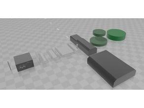 V5 VEX CAD 3D models parts