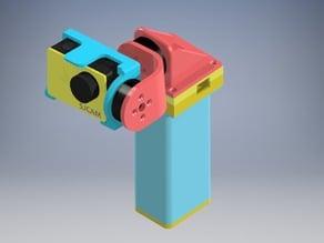 Handheld gimbal 2-axis