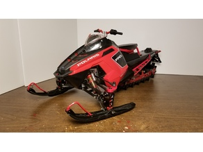 Rc Snowmobile Conversion kit (Polaris Rush)