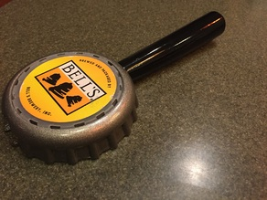 Bottle Cap Beer Tap Handle