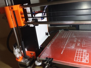 Prusa i3 Plus - X axis endstop mount.
