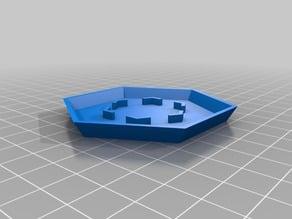 Hexagonal Drainage Dish
