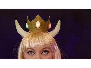 Bowsette LED Crown