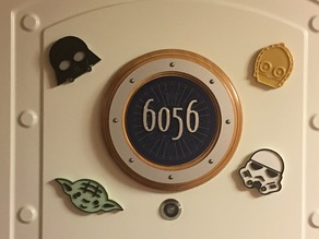 Star Wars Disney Cruise Magnets