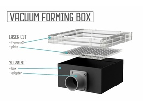 Vaccum forming box - ideal for drone canopies