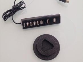 Vertical Support Trust USB Hub