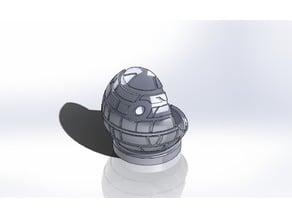 Death Star inspired Yarn Bowl