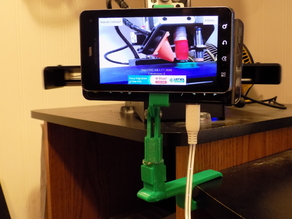 Adjustable Clamp for Phone as Wifi Cam