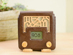 Art Deco FM Radio with Arduino