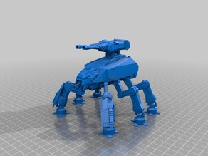 First order AT-MHC walker
