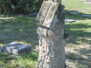 1888 Grave Marker @ St. Michael's Cemetery in Sioux Falls