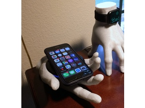 Wireless Charger Phone Stand Hand