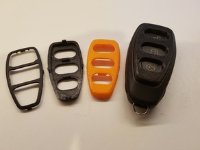 Ford Keyring Button Protector