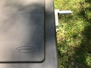 Rotating Handle for Suncast Hose Cart