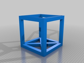 Lamp Shade Gyroid Infill stackable square