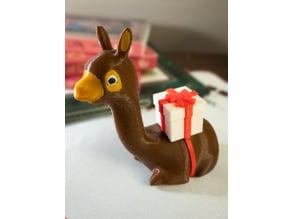 Christmas Pack Llama!