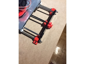 Anet A8 Frame Table Mount
