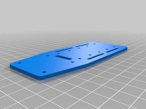 Lidar Lite Mounting Plate for H680 Copter with Rails