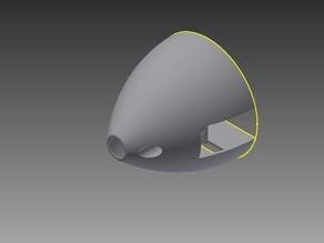 Radian Propeller Spinner and Back Plate