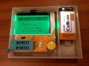 Simple Transistor Tester case