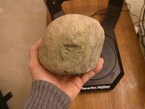 2.7 kg round stone