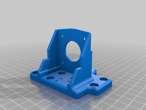 Anet A8 Titan direct feed carriage fixed