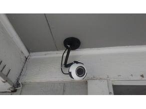 CCTV Ball Camera articulated holder