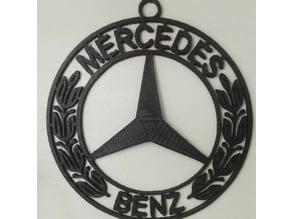 Mercedes Benz  keychain/medallion