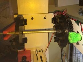 Makerbot Spool Gears for Filawinder