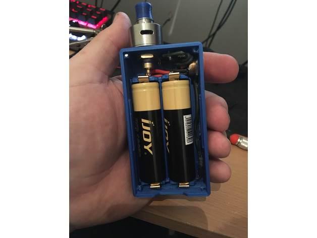 U0026quot Extrude U0026quot  Box Mod Dual 18650 Diy Vape By Mob3d