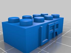 LFR 2x4 Lego Block