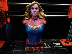 Captain Marvel Bust