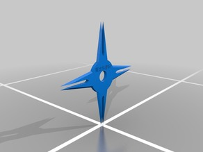 4 Sided Shuriken
