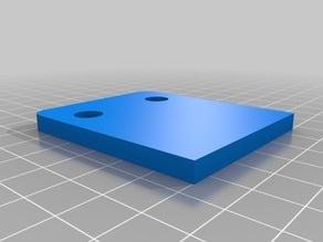 5mm Spacer for the Monoprice Maker Select v2 Spool Holder