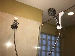 Secondary shower head holder
