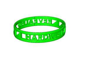DJ Hardwell Revealed bangle