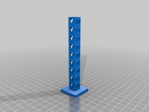 Travis Fletcher's PLA 180-220 Temp Calibration Tower