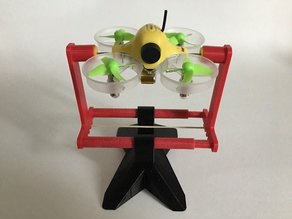 Micro Quadcopter Drone Balancing Tool and Stand