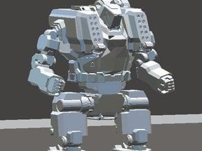 Mechwarrior Online Hunchback