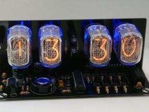 Ebay Nixie Tube Clock kit with IN-12 LED Alarm 3d Printed Case