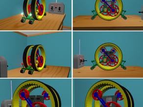 Gary the SnailBot Makezine Contest