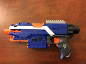 Nerf Stryfe Picatinny Top Rail