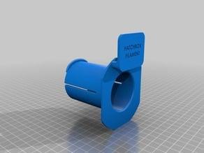 Hatchbox Filament Newer (2016) Spool Holder for FlashForge Creator Pro