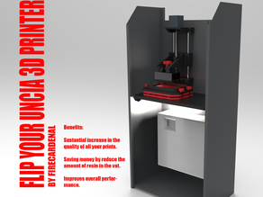 Flip your Uncia 3D printer