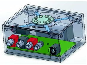 Caja para Oscilador Morse