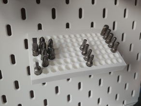 Ikea Skådis - holder for 91 bits