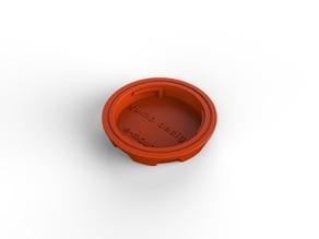 E-Mount rear lens cap redesign