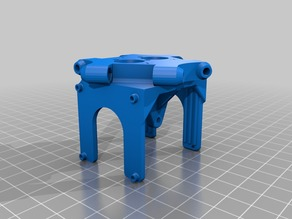 Effector Anycubic Kossel for Chimera E3D