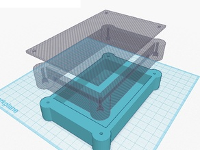 extenderbox for projectbox for pcb (was 60x100mm)